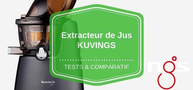 extracteur de jus kuvings avis comparatif