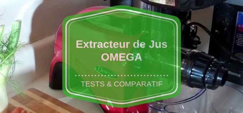extracteur de jus omega comparatif avis