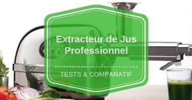 extracteur de jus professionnel