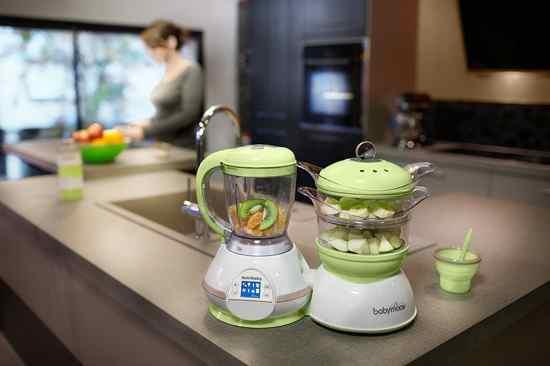 robot cuiseur vapeur mixeur bebe
